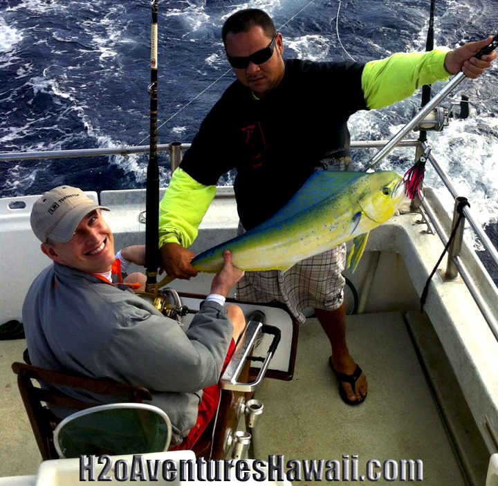 Mahi Mahi coming onboard The SEEKER!
