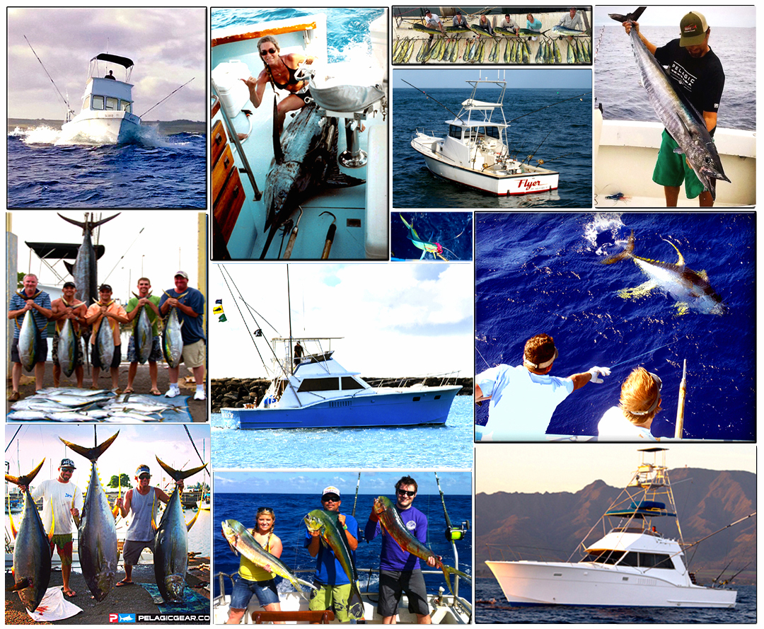 CHUPU SPORTFISHING FLEET HALEIWA HAWAII