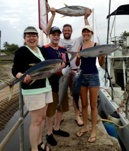 Tuna & Uku or Gray Snapper