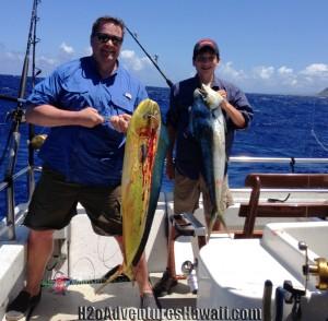 Seeker charter Mahi Mahi