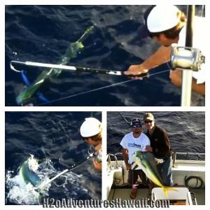 Half Day Charter 3-5-13 Mahi Mahi Tuna