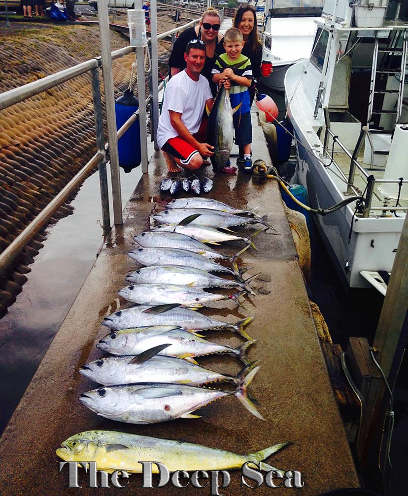 Deep Sea 1-10-14 Tuna & Mahi Mahi