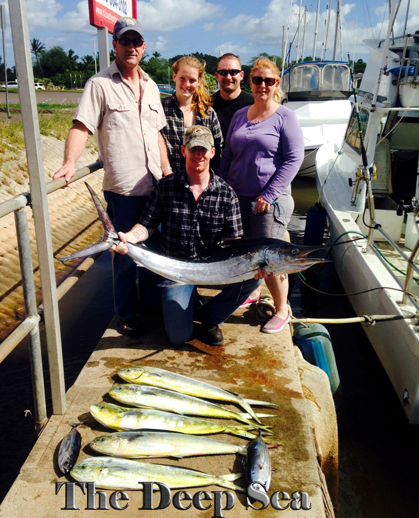 Deep Sea 1-7-14 Spearfish Mahi Tuna