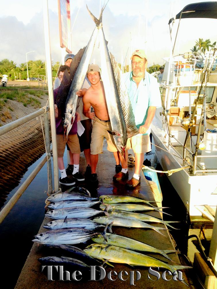 Deep Sea 12-23-13 Tuna Mahi Mahi