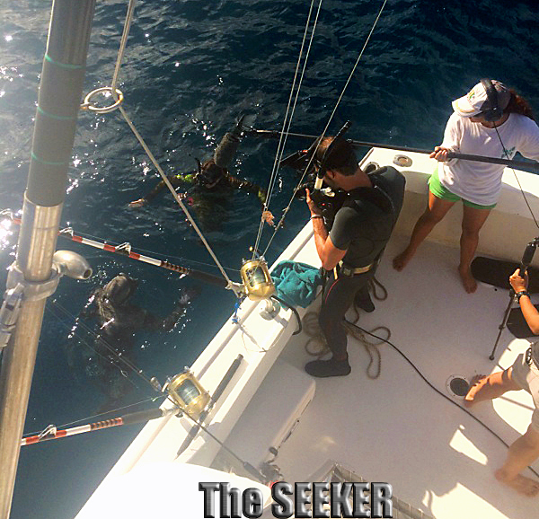 The Seeker Travel Channel Spearfishing show