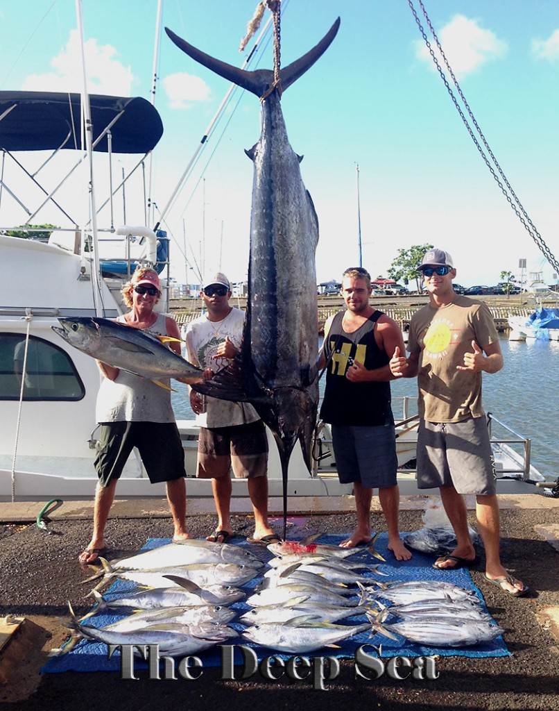 Fall fish hauls from the chupu crew chupu charters for Marlin fishing charters