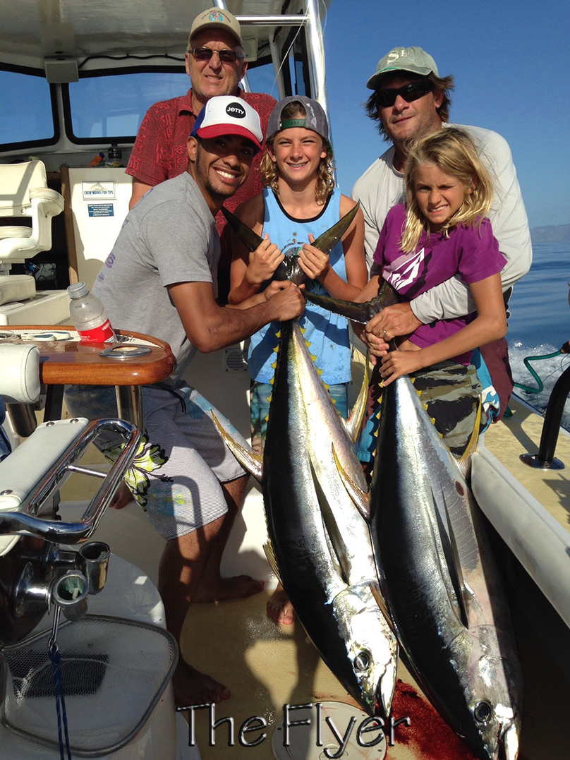 Flyer 1-8-15 Ahi Yellow Fin Tuna Chupu Sport Fishing Hawaii