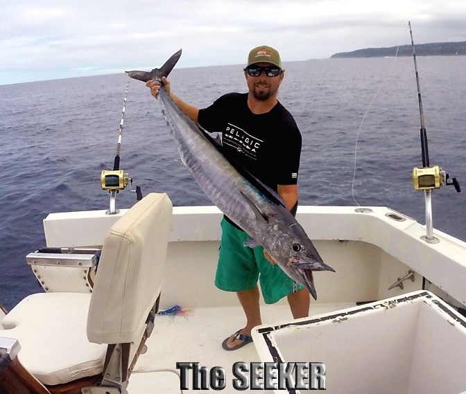 Seeker 1-16-15 Ono Wahoo Chupu fishing charters Oahu Hawaii