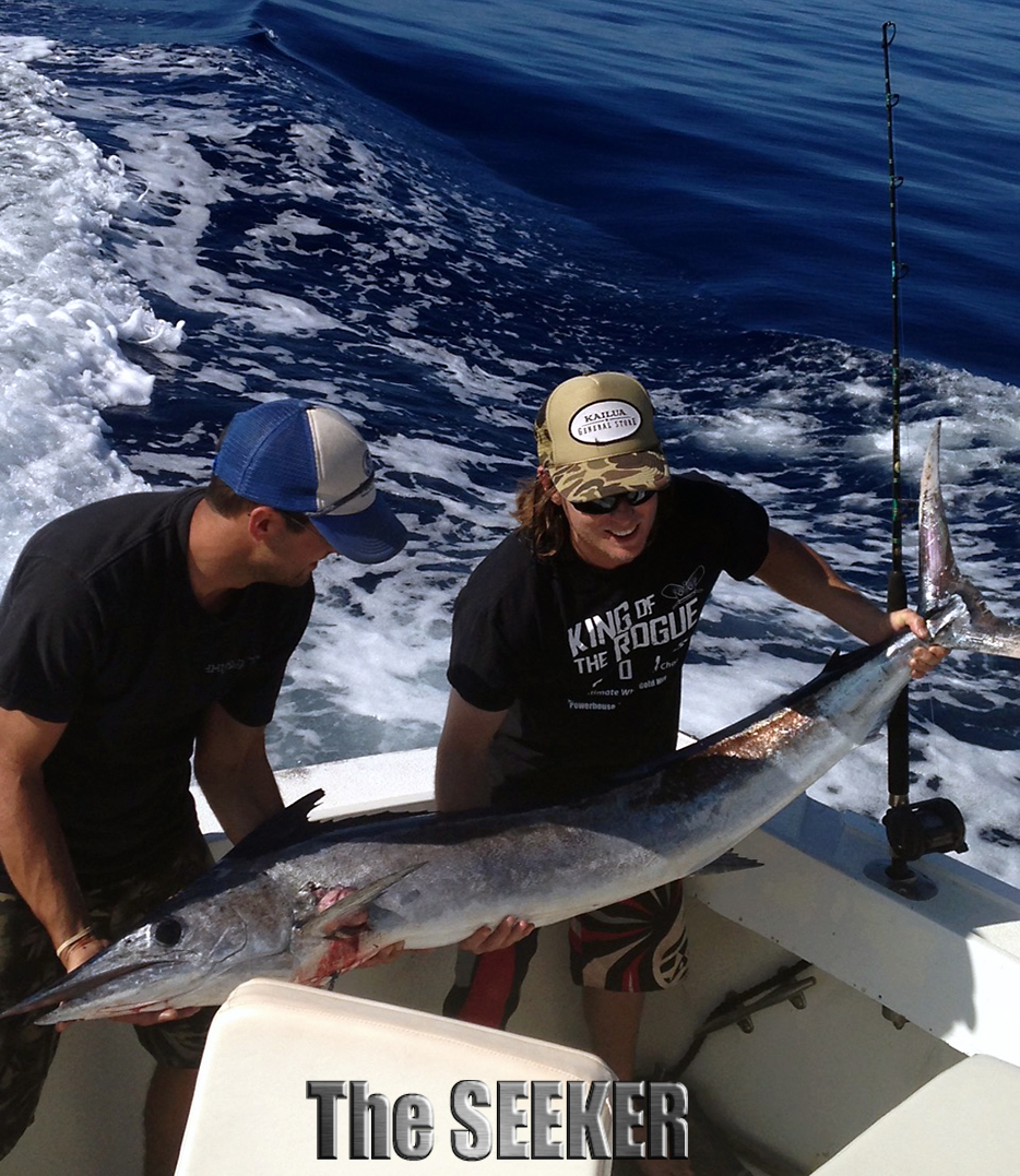 Seeker 1-18-15 Short Bill Spearfish Chupu Sportfishing Oahu Hawaii