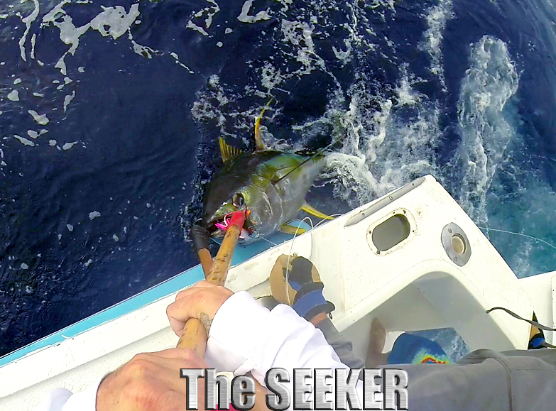 CHUPU SPORTFISHING CHARTER BOAT THE SEEKER AHI